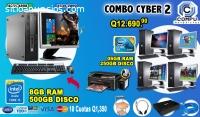 COMBOS POWER, 04 COMPUTADORAS HP CORE2DU