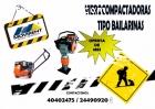 COMPACTADORAS TIPO BAILARINAS