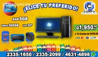 COMPUTADORAS PARA ESTUDIOS, CON REGALO P
