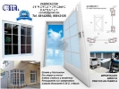 Diseño, Fabricacion, instalacion: Ventan