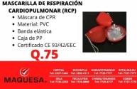 macarrilla cardio respiracion  RCP
