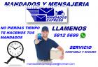 mandados y mensajeria