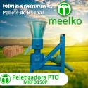 MKFD150P pellets de brizna