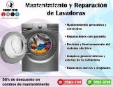 ¿Quieres reparar tu lavadora?