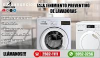 Reparación de lavadores, refrigeradoras