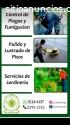 Servicios de Jardineria y fumigacion