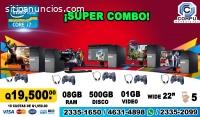 SUPER COMBO DE 05 COMPUTADORAS CON PROCE