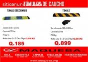TUMULOS DE CAUCHO DE MAQQUESA RETALHULEU