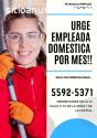 Urgen Empleadas domesticas por mes