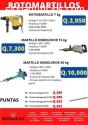 VARIEDAD DE ROTOMARTILLOS