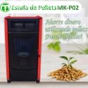 Estufa de Pellets MK-P02