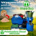 Maquina Meelko para pellets MKFD230A