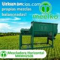Mezcladora horizontal MKMH250B