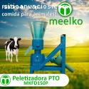 Pellets alimentación de vaca