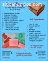 Procesadora para elaborar sellos de Hule