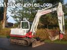 Mini escavatore Takeuchi TB 175  €1000