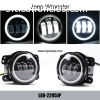 Jeep Wrangler Power 30W CREE Auto DRL