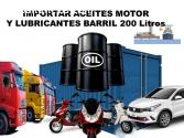 Aceites de motor Auto Camion Importacion