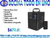 BOCINA EASY LINE TODO EN UNO EL-994589