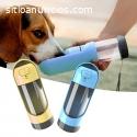 Botella de agua portátil para mascotas c