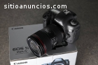 Canon eos 5D Mark IV con lentes 24-105mm
