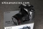 Canon eos 5D Mark IV con lentes 24-105mm