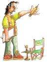 Caricaturista Lalo Montes