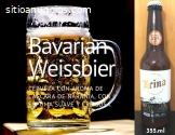 Cerveza Artesanal Nacional y Alemana.