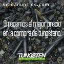 Compra de CARBURO DE TUNGSTENO en CDMX