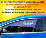 CORTINAS PROMOCIONALES PARA AUTO