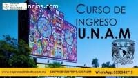 CURSO DE INGRESO A LICENCIATURA UNAM