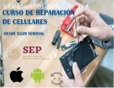 Diplomado en reparación de celulares