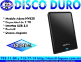 DISCO DURO ADATA DE 2 TB