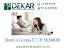 Divorcio Express Económico CDMX,D.F