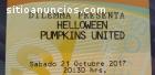 Dos boletos para Concierto Helloween Pum