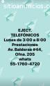 ejecutivos telefónicos+vespertino+1/2 T.