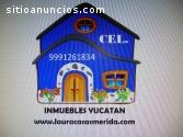 En Merida Casas amuebladas vacacionales
