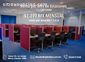 ESTACIONES PARA CALL CENTER