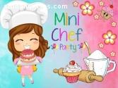 Fiesta Mini chef,Pintacaritas