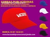 GORRAS BORDADAS EN 3D