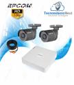 Kit 2 Cámaras Bala Epcom 720p
