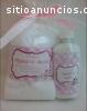 Kit recuerdo de boda toalla y crema