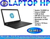 LAPTOP HP 15-BS001LA