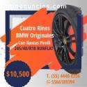 Llantas pirelli y Rines BMW/245/40/r18 R