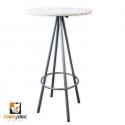 Mesas periqueras mesa de metal mobydec