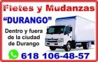Mudanzas Durango