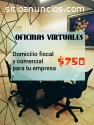 OFICINAS VIRTUALES, DOMICILIO FISCAL