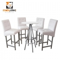 Periqueras sillas y mesas para bares