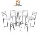 Periqueras sillas y mesas para cafeteria