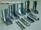 Poste y canal para tablaroca metalico– f